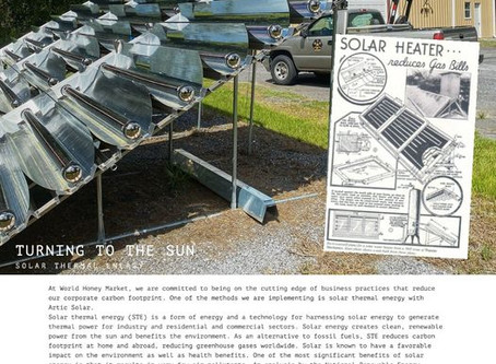 Turning to the Sun - Solar Thermal Energy | Photo Essay