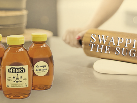 Swapping sugar for honey, a quick baking guide