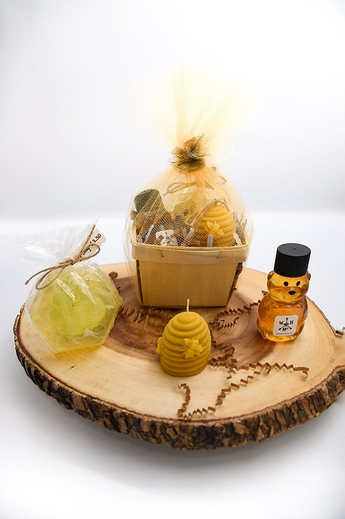 Raw Honey Gift Basket Small