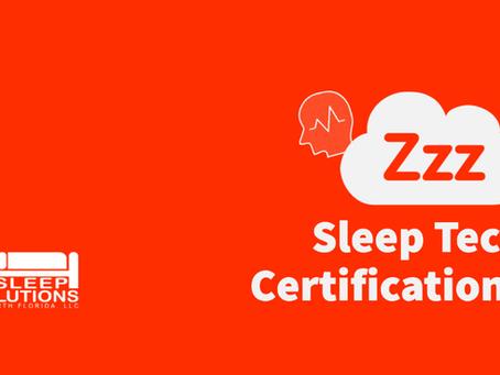 Sleep Tech Certifications