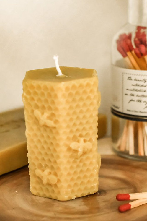 Handpoured Beeswax 4 oz candle