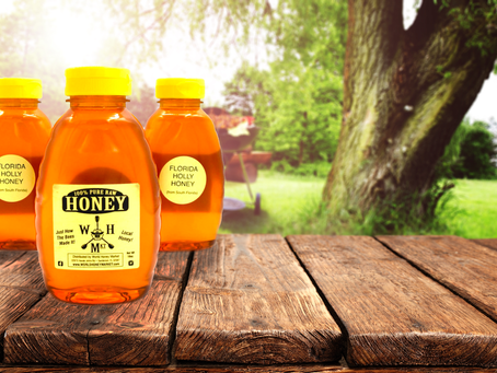Grilling with honey