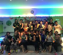 Malaysia Rockstars ⚡️ Poundfit Masterclass at Reggae Fitness Kuching, Malaysia January 26, 2018 __po