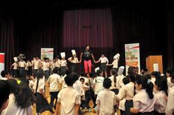 Dubai International School-- Sadia Fit to learn Campaign