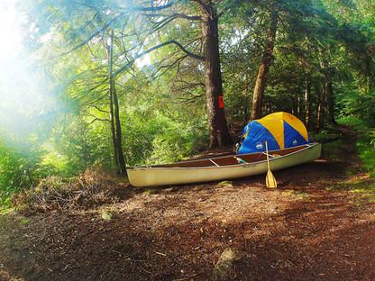 まわりに他のグループのいない1グループ限定の貸切のキャンプサイトです!