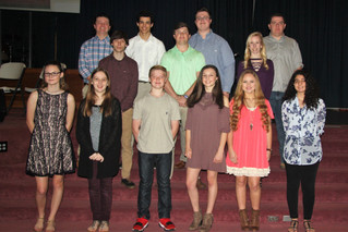 Senior Beta Club Inductions