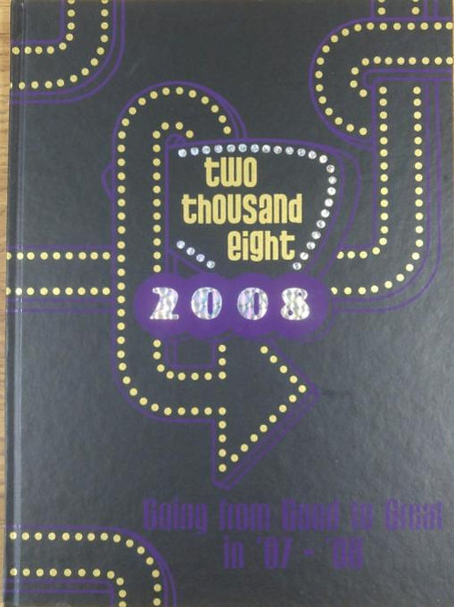 2007-2008 Yearbook