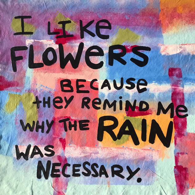 I like Flowers- 2019