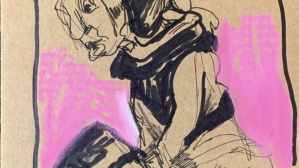 Cardboard Sketch #2
