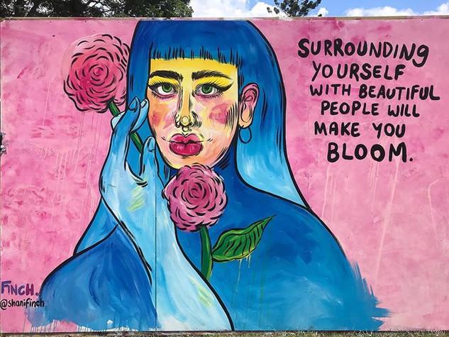 Jungle Love Mural 2018.