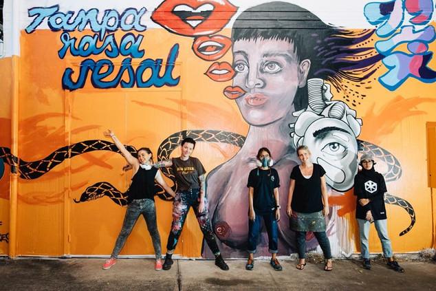 Urban Gallery Womens Mural-BSAF 2018