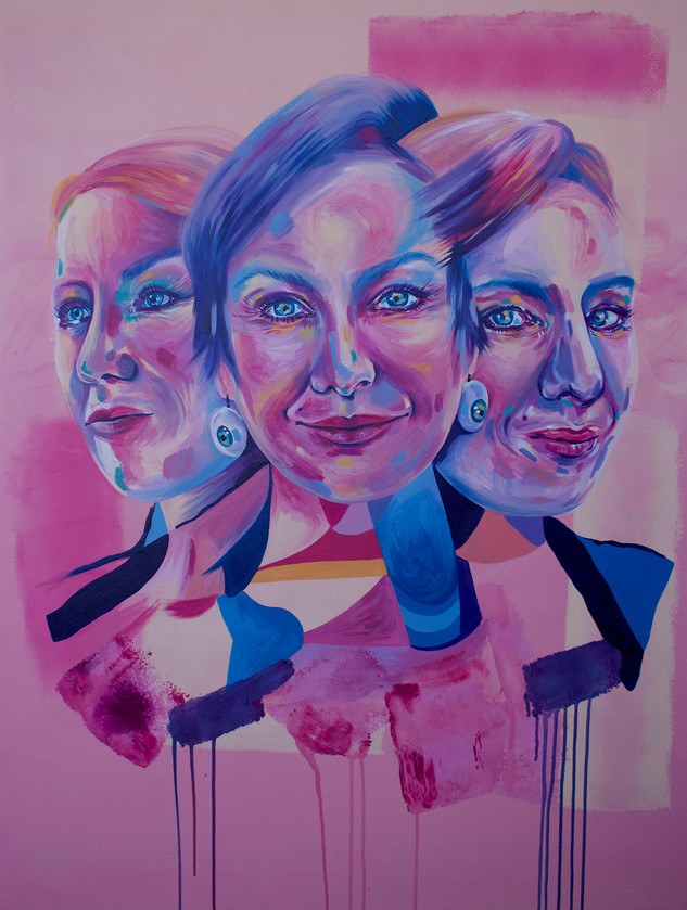 Brisbane Portrait Prize- Larissa Waters 2019.