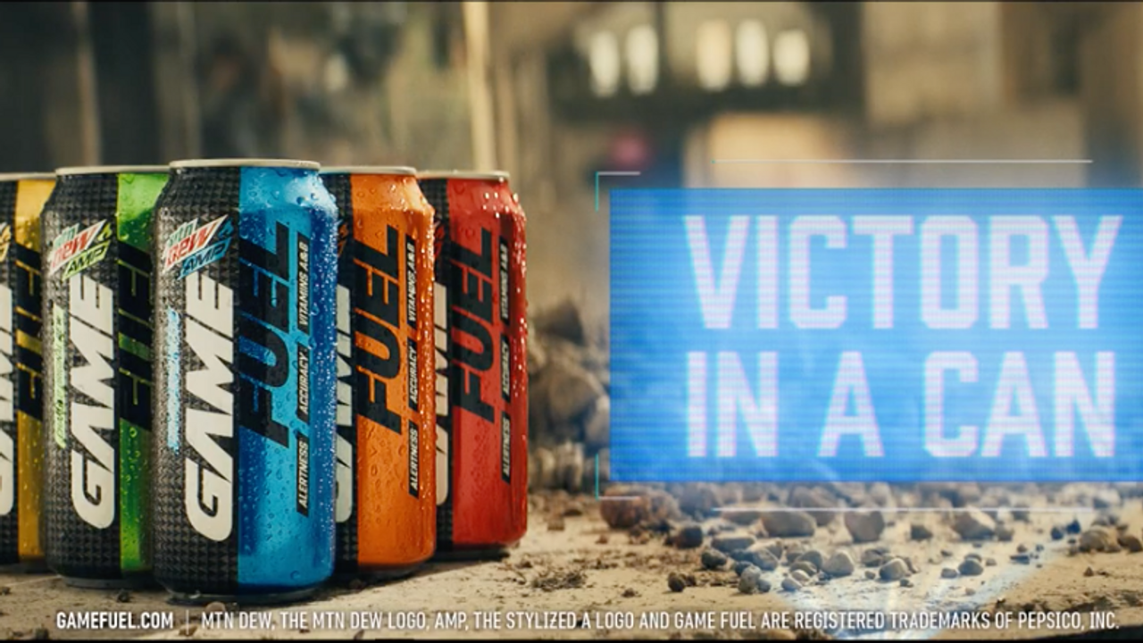Game Fuel Energy Drink