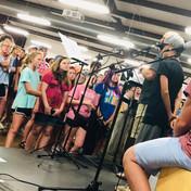 Singing at Bandina