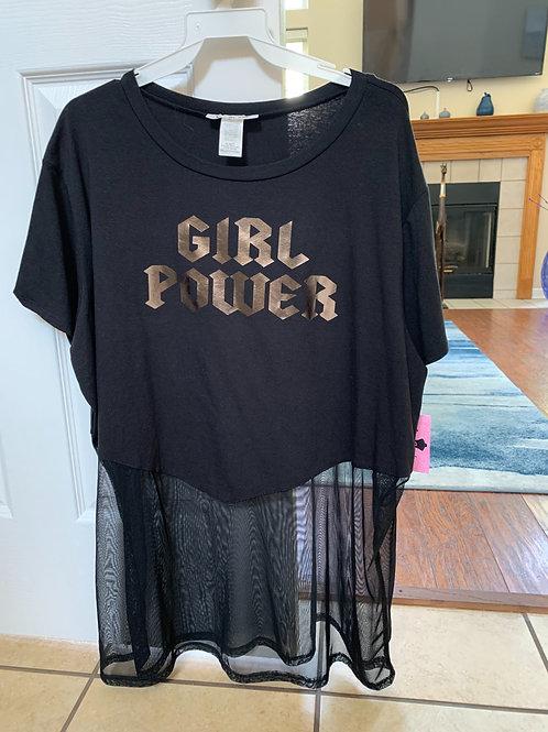 """GIRL POWER"""" TEE"""