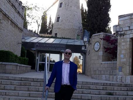 Israël: Masterclass at The Jerusalem Music Center.