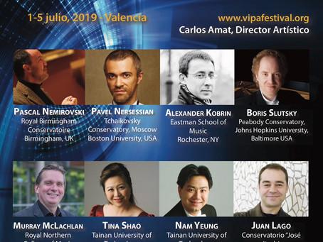 Spain: Valencia International Performance Academy and Festival.