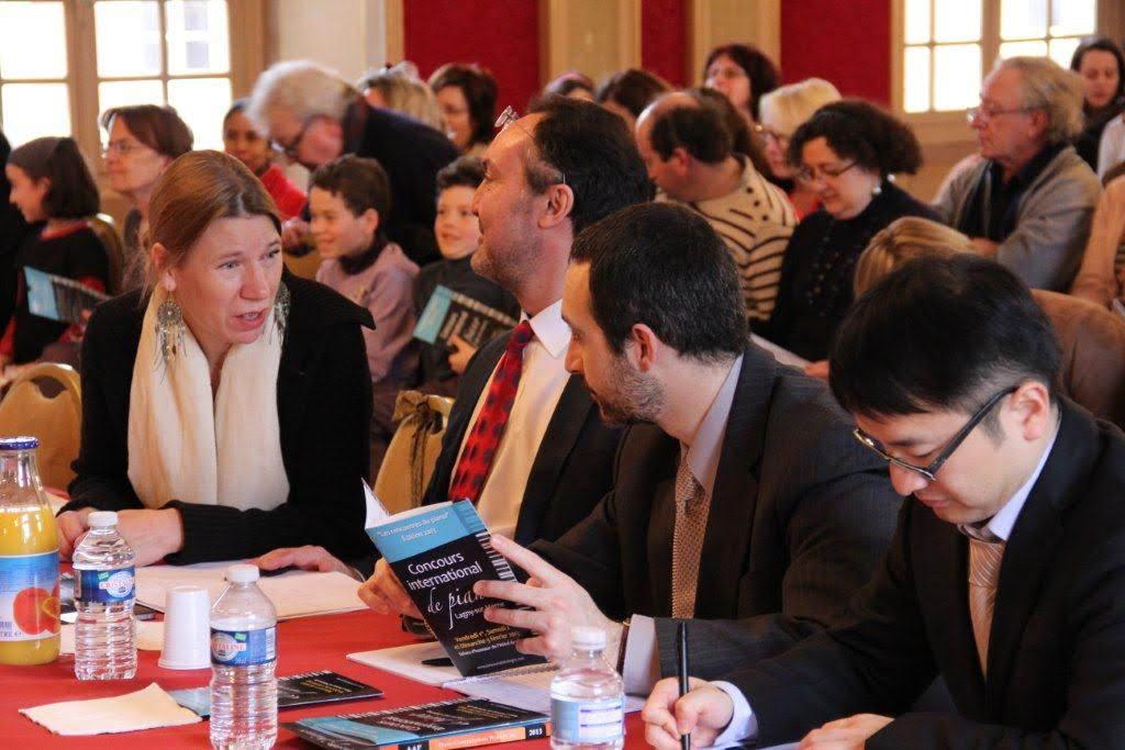 With Ariele Butaux, Antonio Pompa-Baldi, Ting Zhou