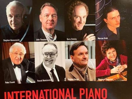 UK: BIRMINGHAM INTERNATIONAL PIANO FESTIVAL.