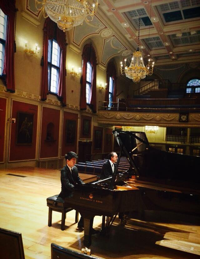 Master class at the Royal Academy of Music