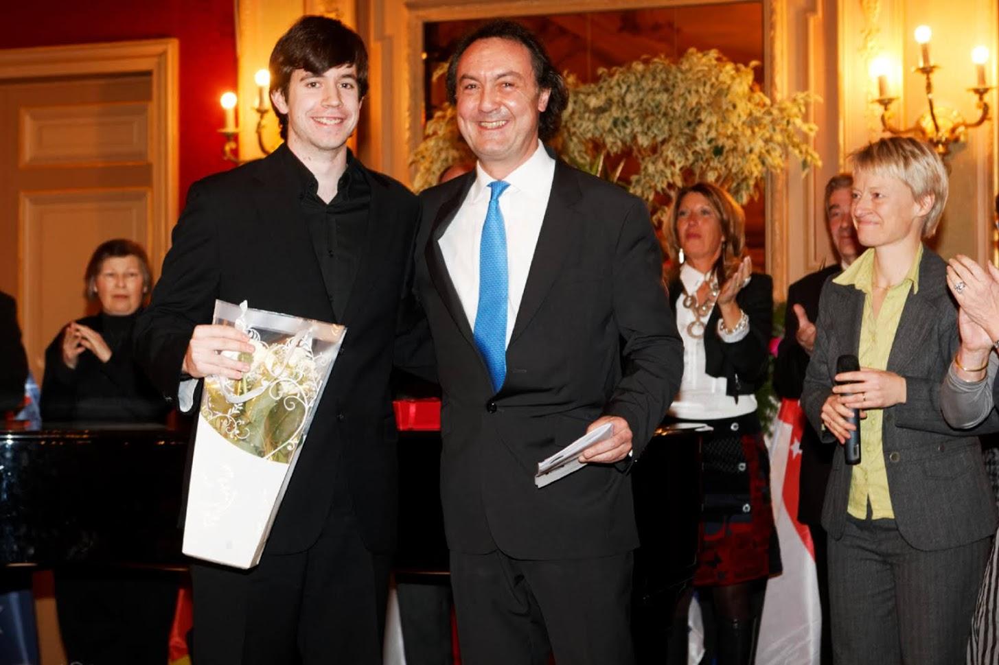 With Mario Mora Saiz