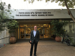 Masterclass at the Buchmann-Mehta School of Music in Tel Aviv