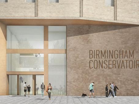UK: New Building for the Birmingham Conservatoire Sept. 2017!
