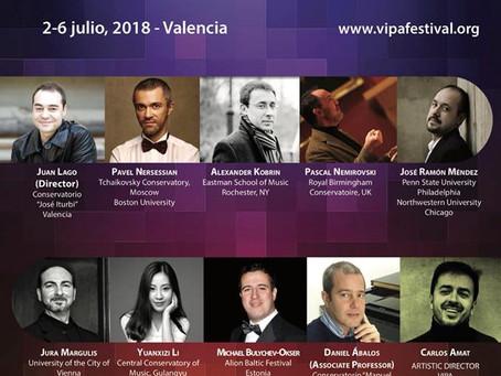 Spain: Valencia International Performance Academy & Festival.