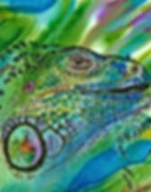 Sheryl Williams - Essence of Iguana  - 1