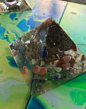 Meg Highsmith - Orgonite Pyramids - 1.jp