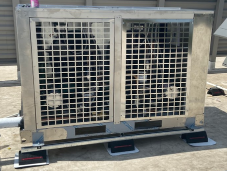 The Delivery of Refrigeration System Rack in Houston, TX