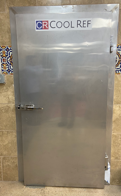 Standardized door is made by stainless steel