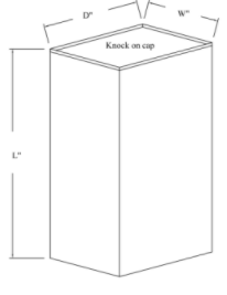 Metal Plenum Drawing