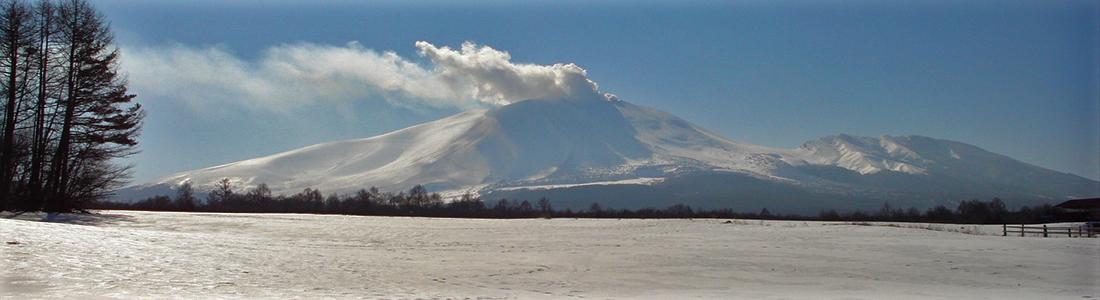 浅間山雪6