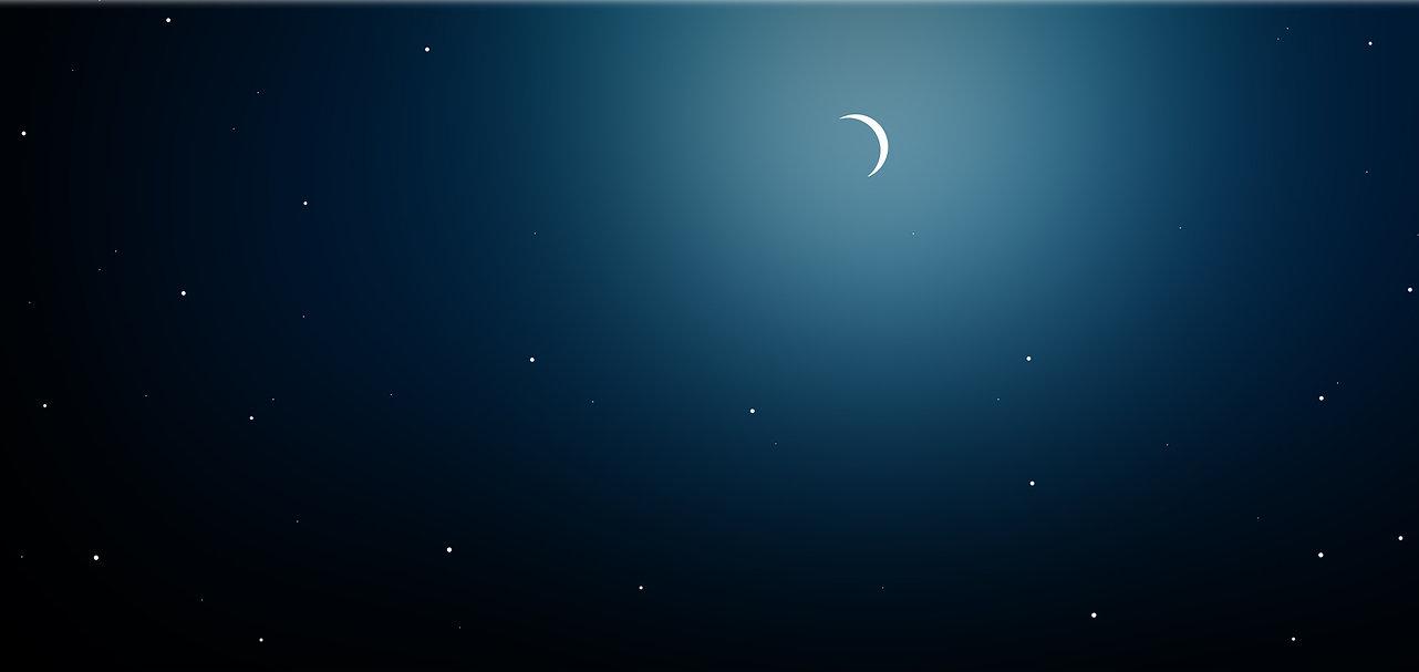 Star and Moon 星と月