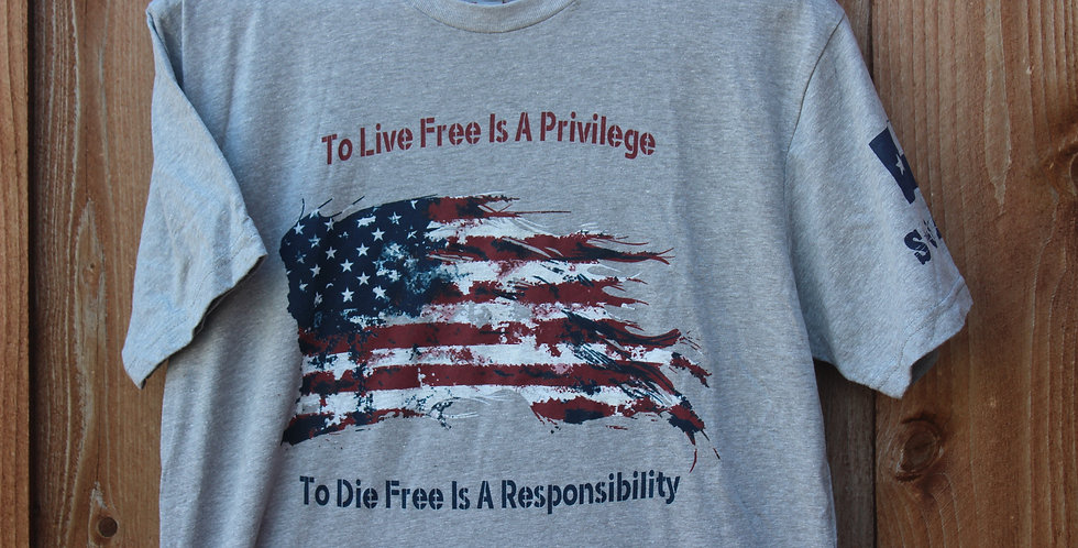 TO LIVE FREE IS A PRIVILEGE Shirt