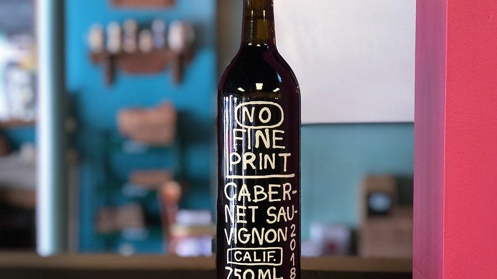 No Fine Print Cabernet Sauvignon