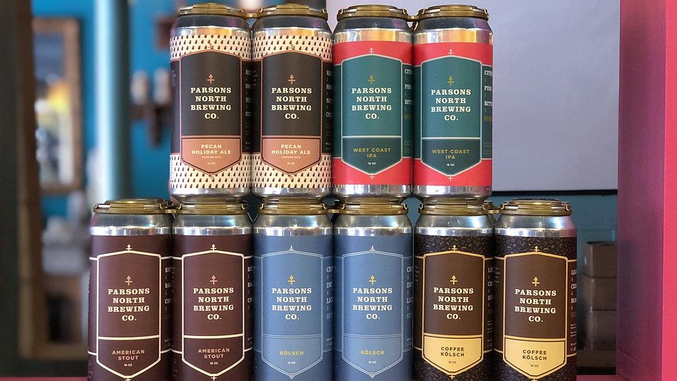 Parsons North Brewing 4pks