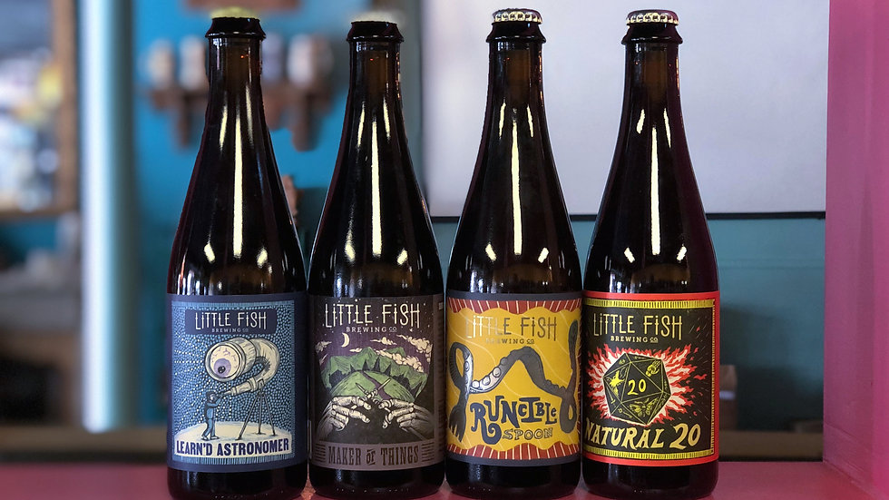 Little Fish Brewing Co. Beers