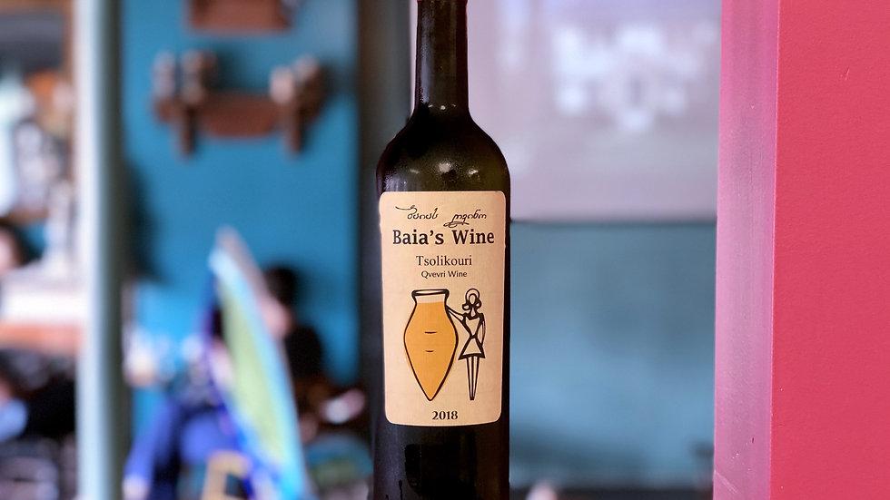 Baia's Wine Tsolikouri