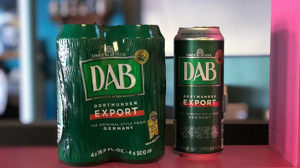 DAB Dortmunder Export Lager 4pk