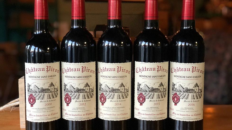 5-Pack Vertical Bordeaux Tasting
