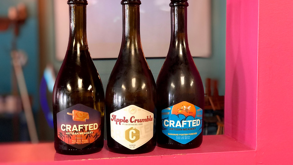 Crafted Artisan Meads 500ml