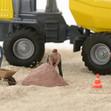 Vollsperrung Buchenweg wegen Gas- und Wasseranschlussarbeiten