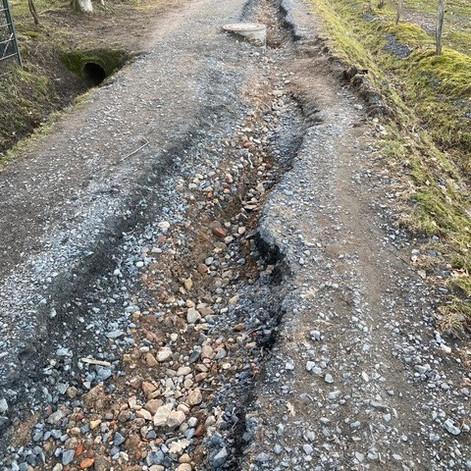 Maasgrundweg wird nach Februar-Starkregen ab nächste Woche erneuert