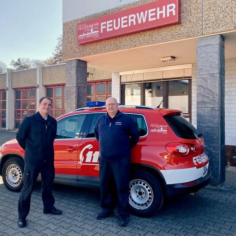 Valentin Reuter wird Oberursels erster hauptamtlicher Stadtbrandinspektor