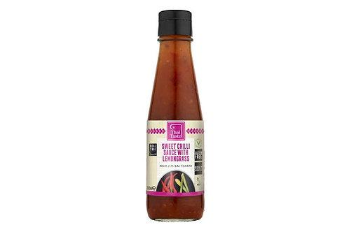 Sweet Chilli Sauce with Lemongrass (Nam Jim Kai Takrai) 200ml by Thai Taste
