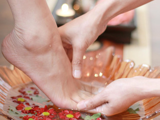 Thai foot massage