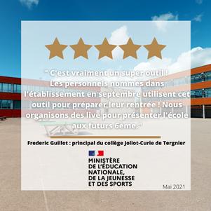 Avis Client Collège Joliot-Curie