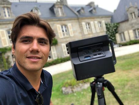 Visite virtuelle Manoir de Kerazan TAS3D